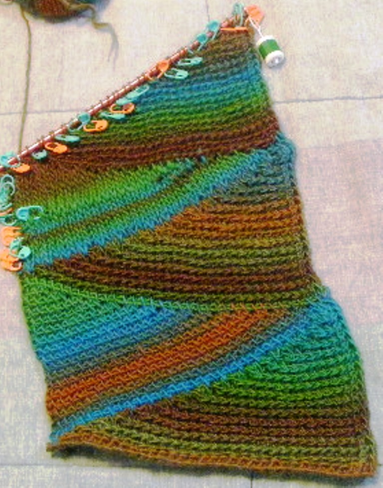 Short Row Scarf Knitting Pattern : 301 Moved Permanently